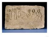 Egyptian Limestone Stela Roman Period, circa 2nd-3rd Century AD Art
