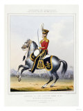 The Queens Own Light Dragoons Giclee Print
