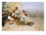 Mother's Day, 1886 Giclee Print by William Feron