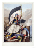 Nicolacki Mitropolos, 1825 Giclee Print by Louis Dupr&#233;