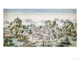 View of Macao, Late 18th Century, Chinese School Posters