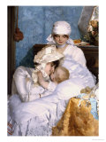 Motherly Love, 1883 Reproduction proc&#233;d&#233; gicl&#233;e par Ferenc Innocent