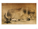 Melancholy Horse (18th Century) Prints