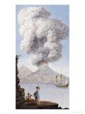 Eruption of Vesuvius, 1776 Giclee Print by Sir William Hamilton