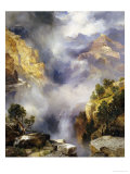 Mist in the Canyon, 1914 Giclee Print by Thomas Moran