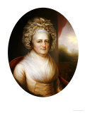 Martha Washington Giclee Print by Rembrandt Peale