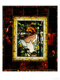 An Important Leaded Glass Portrait Window, Dated Prior 1900 Giclee Print by Tiffany Studios 