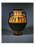 An Attic Black-Figure Neck Amphora (Detail), circa 550 BC Print