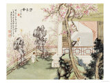Eight Views of Qiu Garden Prints by Ju Lian