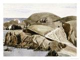 The Road Through the Rocks Giclée-Druck von Charles Rennie Mackintosh