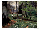 The Woodland Path Premium Giclee Print by Hans Anderson Brendekilde