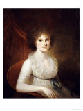 Portrait of Ann Emily Rush Giclee Print by James Peale