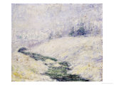 Winter Scene Prints by John Henry Twachtman