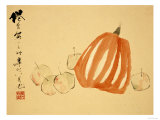 Pumpkins Giclee Print by Xu Gu