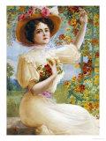 A Summer Beauty, 1909 Giclée-Druck von Emile Vernon