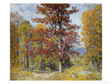 Early Autumn Posters by John Joseph Enneking