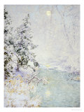 Winter Sun Posters by Walter Launt Palmer
