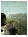 Summer Evening, Paris Posters by Childe Hassam