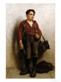 Shoeshine Boy Giclee Print by John George Brown