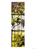 Fine Leaded Glass Triptych Window (Left Panel), circa 1908 Print by  Tiffany Studios