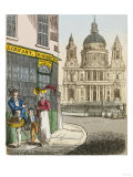 "Frontispiece Illustration from ""Sam Syntax's Description of the Cries of London"", 1835 Giclee Print"