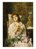 Love Offerings Giclee Print by Alexei Alexeivich Harlamoff