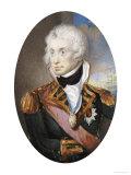 Portrait of Horatio Nelson, English School, circa 1798 Premium Giclee Print