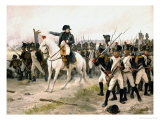 Napoleon at the Battle of Friedland Giclee Print by Edouard-bernard-debat Ponsan