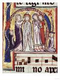 Baptism of Christ, 1290-1300 Giclee Print