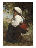 A Roman Girl Giclee Print by Jacob Henricus Maris