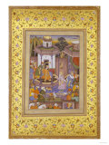 A Prince Giving Audience Mughal Late 16th Century Giclee Print