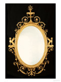 A George III Giltwood Mirror Giclee Print by Robert Adam
