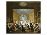 The Subscription Ball in the Haymarket Giclee Print by Giuseppe Grisoni