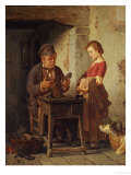 At the Cobblers, 1867 Giclee Print by Antonio Rotta