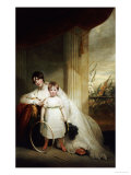 A Group Portrait of the Hon Giclee Print by John Hoppner