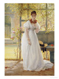 In the Walled Garden Posters by George Dunlop Leslie