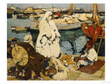 The Port of Algiers, 1924 Giclee Print by Leon Cauvy