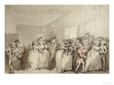 Box-Lobby Loungers, 1785 Prints by Thomas Rowlandson