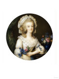 A Fine and Important Miniature of Queen Marie-Antoinette (1755-1793) Giclee Print