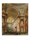 St. Peter's Basilica, Rome Giclee Print by Giacinto Gigante
