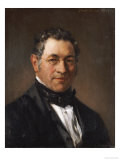 Portrait of Professor Siegfried Dehn (1799-1858) Giclee Print by Adolf Von Menzel