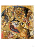 An Important Late Byzantine Icon of the Nativity of Christ, 15th Century Giclee Print