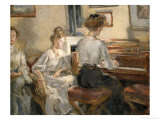 Evening Music, 1907 Giclee Print by Fritz Karl Hermann Von Uhde