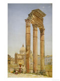 The Forum, Rome, 1875 Prints by Niels-anders Bredal