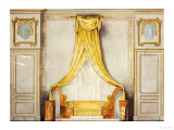 Design for an Empire Style Bedroom Giclee Print by L. Beraud