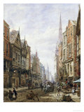 Watergate Street, Chester Prints by Louise J. Rayner