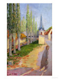 Le Printemps En Franche Comte Giclee Print by Lucien Roy