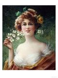 Blossoming Beauty Kunstdrucke von Emile Vernon