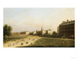 A View of the New Horse Guards from St. James's Park, London, English School, circa 1753 Prints