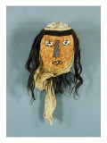 A Nasca Feathered Head Posters